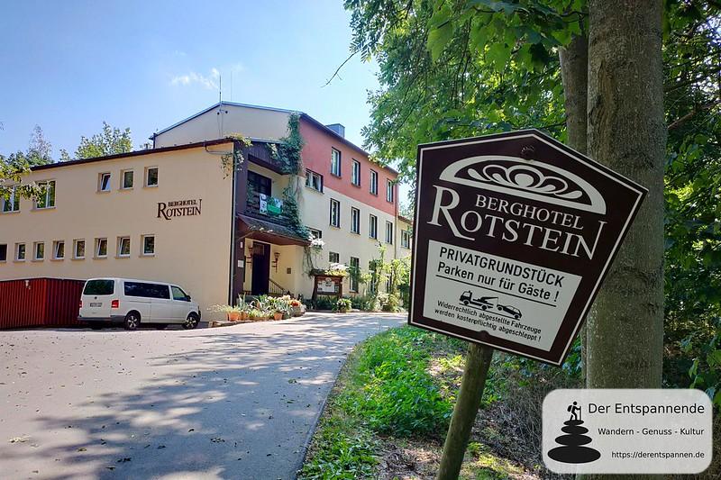 Berghotel Rotstein - Auf der Via Sacra in Oberlausitz von Bautzen nach Görlitz, inklusive Radtour zum Kloster St. Marienthal