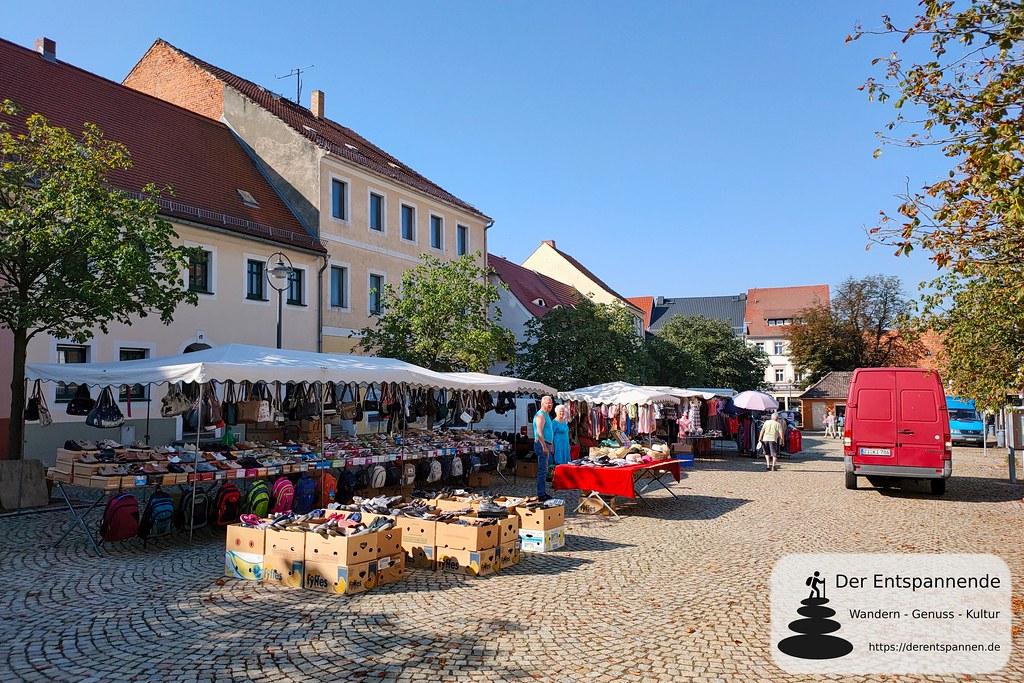 Markt in Reichenbach/O.L.