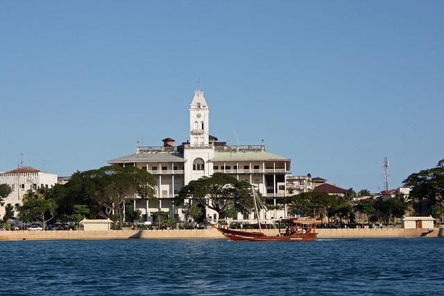 28. View Of House Of Wonders, Departing On Sunset Cruise, Stone Town, Zanzibar, Tanzania