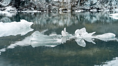 Small icebergs in the Alps: soon disolved (1/2)