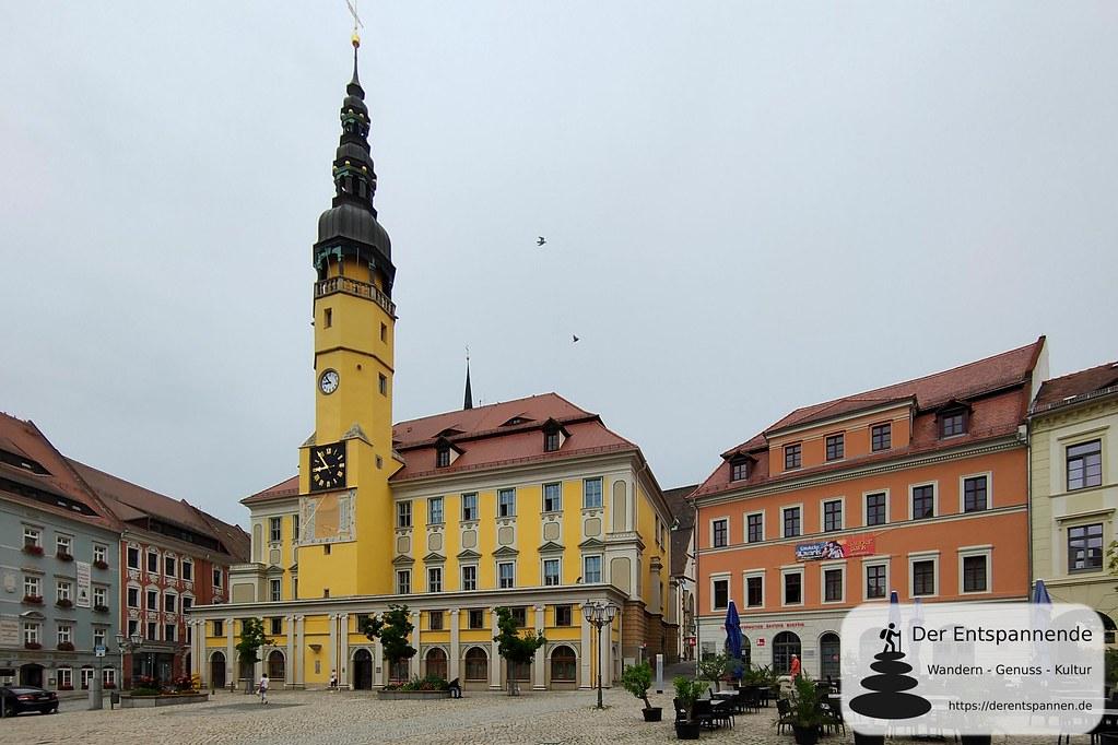 Hauptmarkt und Rathaus von Bautzen