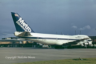 BOEING 747-212B METRO INTERNATIONAL