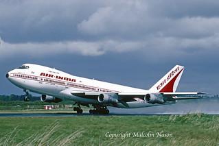BOEING 747-212B VT-ENQ AIR INDIA