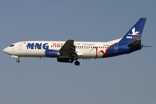 TC-MNI. B-737/400. MNG Airlines. PMI.