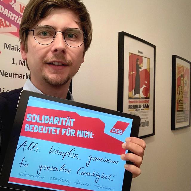 Solidarisch ist man nicht alleine (3)