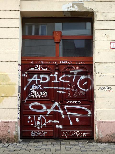 Graffiti in Bratislava 2019