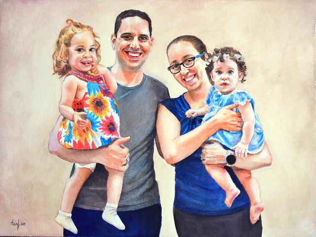 Lada's Family Portrait