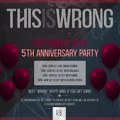 THIS IS WRONG 5th Anniversary Party!