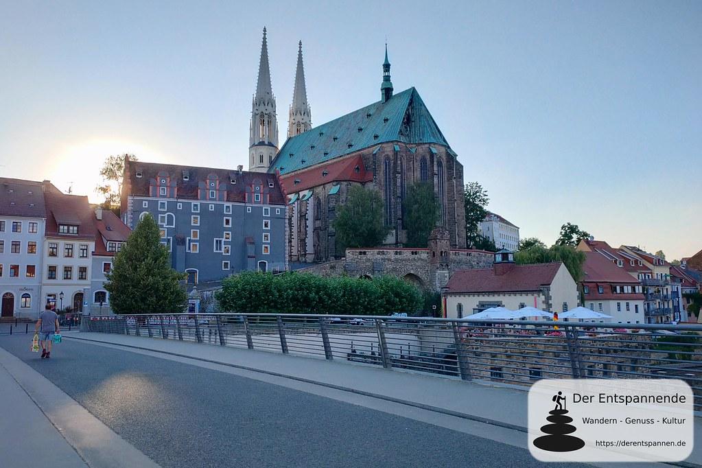Pfarrkirche St. Peter und Paul über der Lausitzer Neiße (Görlitz)