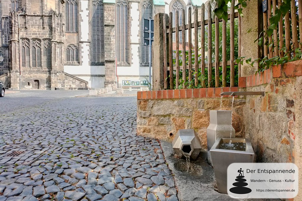 Brunnen unterhalb der Pfarrkirche St. Peter und Paul (Görlitz)