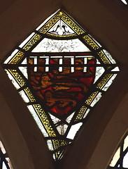 castellated three lions shield (Thomas Bretherton, Duke of Norfolk? 14th Century)