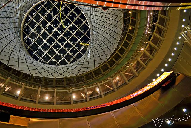 Inside Fulton Center & Station on Fulton Street near WTC Manhattan New York City NY P00654 DSC_1316
