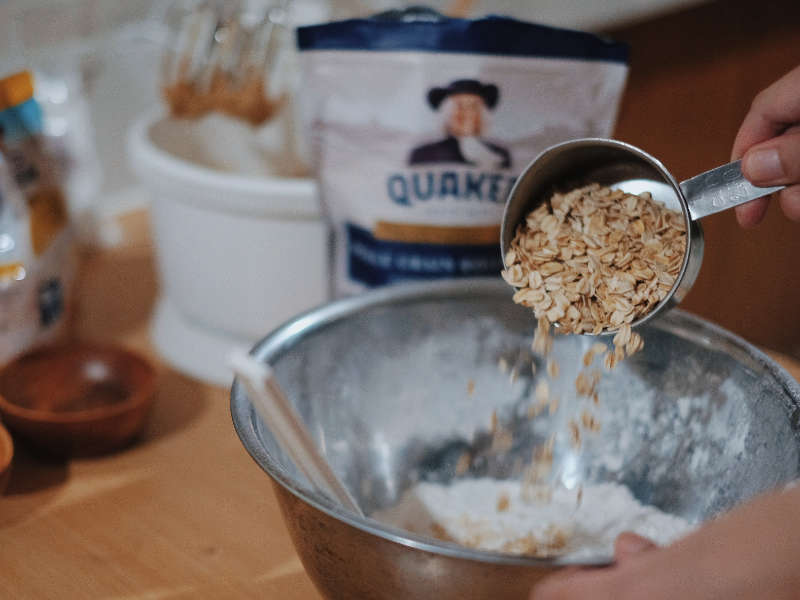 Trying Out Easy Quaker Oats Cream Pie Recipe