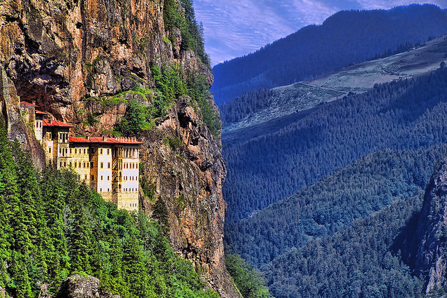 Sümela Manastırı (Panagia Sumela / Theotokos Sumela)