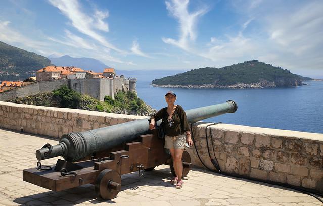 Cannon at the Fort Lovrijenac - Dubrovnik