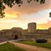 Puesta de sol en el Castillo de Zamora