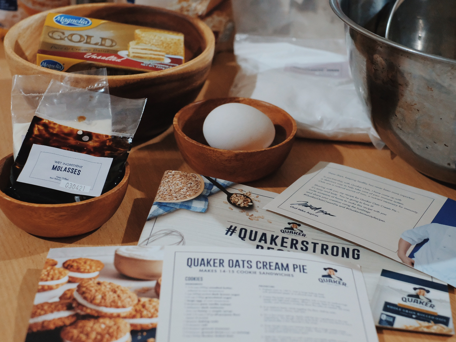 Quaker Oats Cream Pie Recipe Chef Miko Aspiras