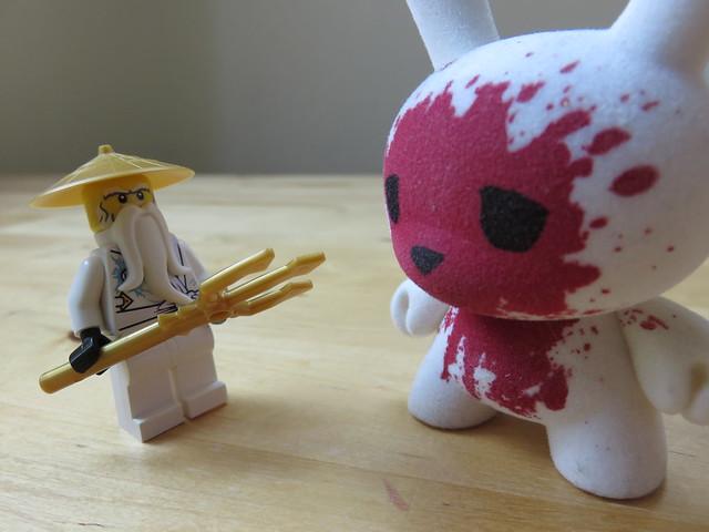 I AM SENSEI WU! Stay back you fiend!!
