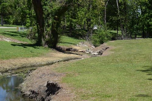 Creek in McKinney Park