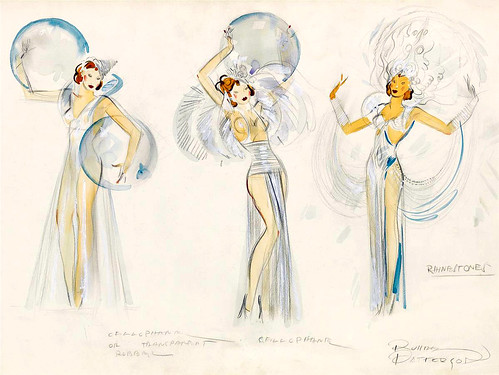 PATTERSON, Russell.  Bubbles and Rhinestones (costume designs).