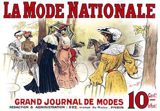 GUYON, Maximilienne (1868-1903). La Mode Nationale, c. 1895