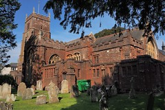 Parish Church of St John the Baptist, Paignton, Devon, UK