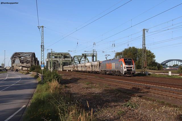 hvle 159 002 - Hamburg Norderelbbrücke