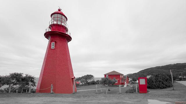 Phare de La Martre, Gaspésie, PQ, Canada - 5423