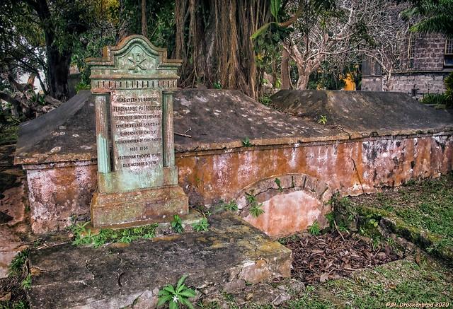 The Ferdinand Paleologus Grave Site, St. John Parish Church in Barbados