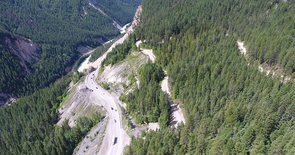 Following a competitive procurement process, a preferred proponent team has been chosen to design and construct Phase 4 of the Kicking Horse Canyon Project near Golden.