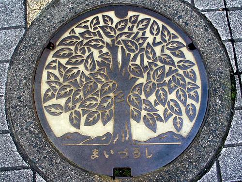 Maizuru Kyoto, manhole cover 4 (京都府舞鶴市のマンホール4)