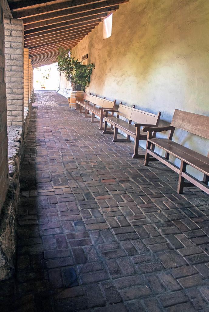 San Luis Obispo Mission Hallway