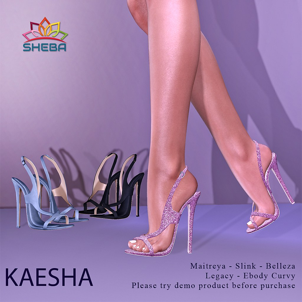 [Sheba] Kaesha Heels @Fly Buy Friday