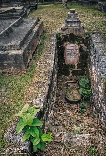 Mr. & Mrs. Thomas Henry Sealy Grave at St. John Parish Church, Barbados