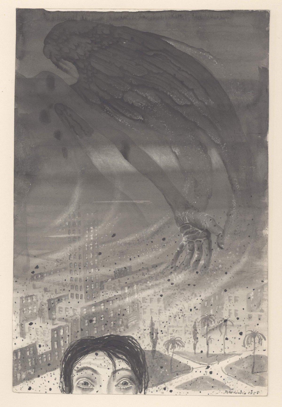 Bronisław Wojciech Linke - Radioactive dust, 1958