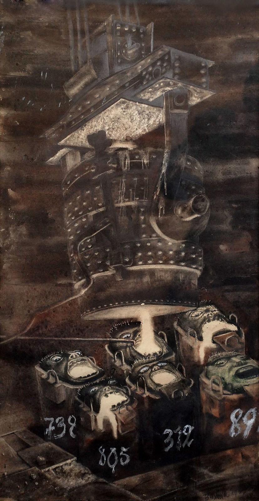 """Bronisław Wojciech Linke - """"Wlewnice"""" from the series Black Silesia, 1937"""