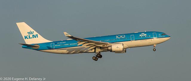 Koninklijke Luchtvaart Maatschappij, KLM Royal Dutch Airlines, PH-AOF, 2006 Airbus A330-203, MSN 801, FN-OF-506,