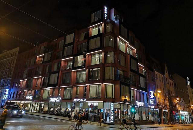 Park Inn by Radisson at corner of Lacplesa Street and Krisjana Barona Street in central Riga, Latvia. September 18, 2020