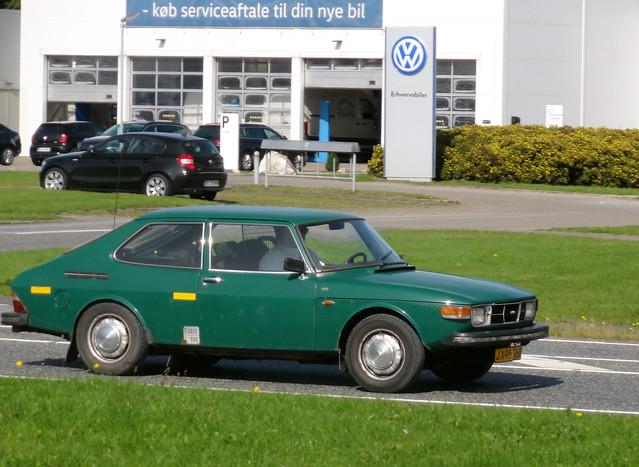 Saab 99 Combi van JX95760 is now a very rare survivor in Denmark