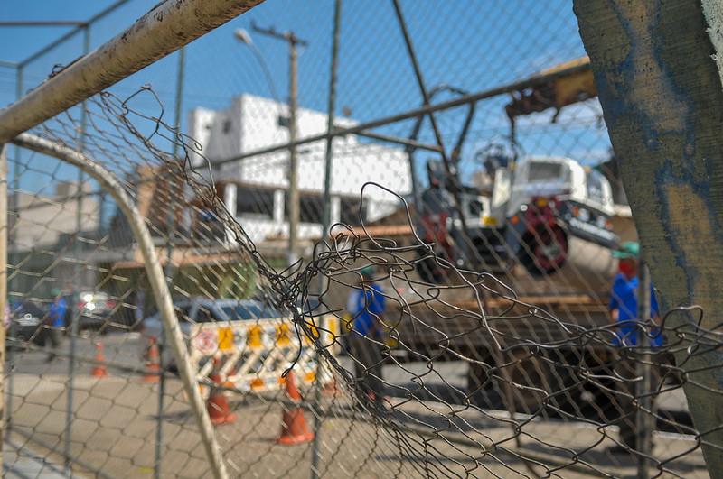 Lançamento do Projeto Adote uma Praça, anúncio de outras obras, anúncio da entrega da rotatória do Paranoá Parque e de calçadas do Paranoá Parque