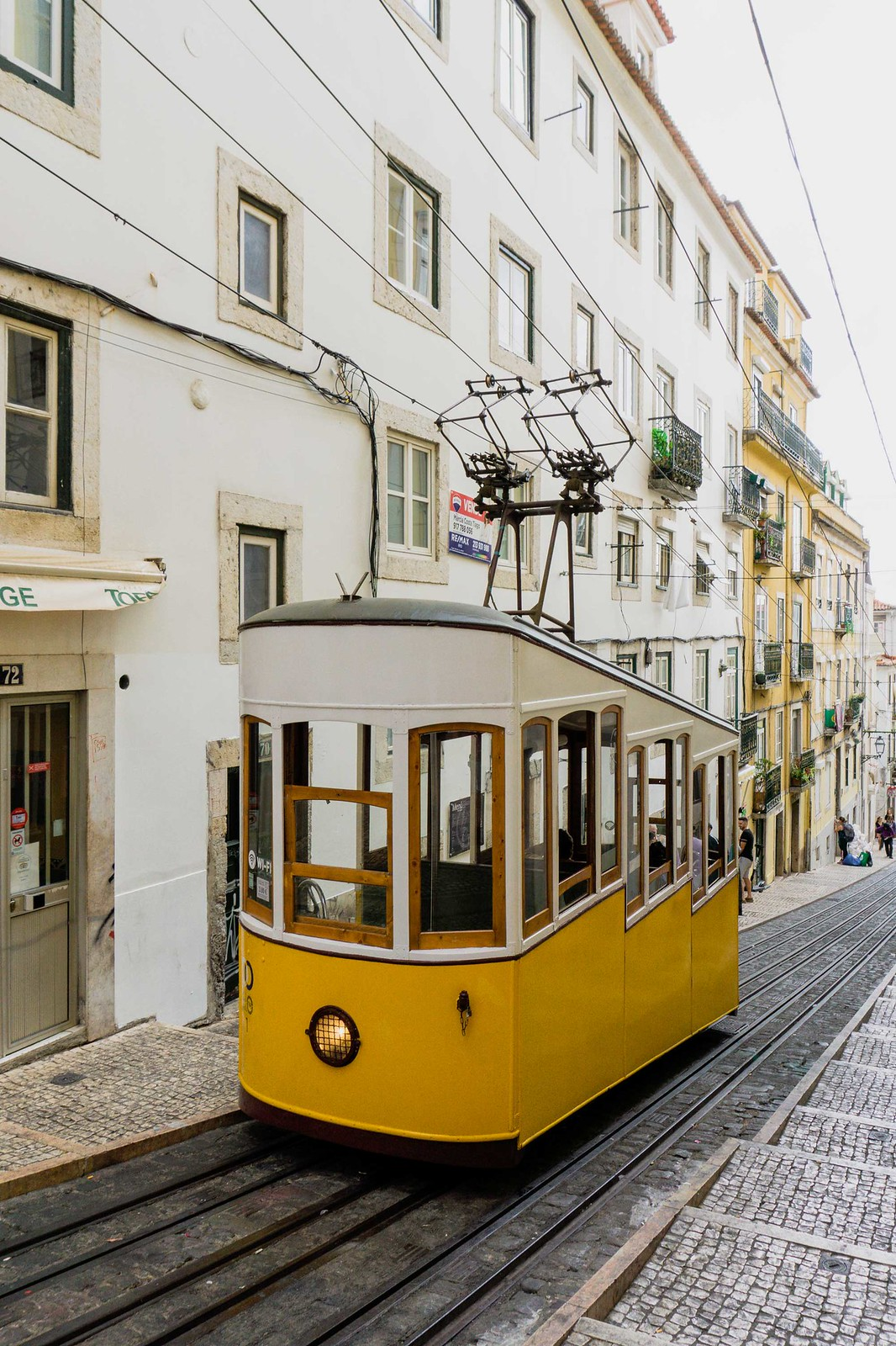 10 Places I Want to Travel After COVID-19 | Places to Travel after Lockdown is Over | Travel Aesthetic | Portuguese Aesthetic | Lisbon, Portugal |  Ascensor da Bica | Mountain Cable Car