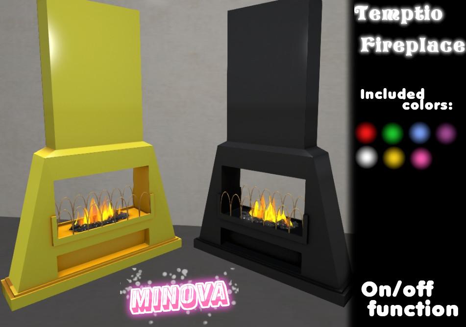 Temptio Fireplace