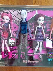 Monster High Maul Monsteristas 5 Pack