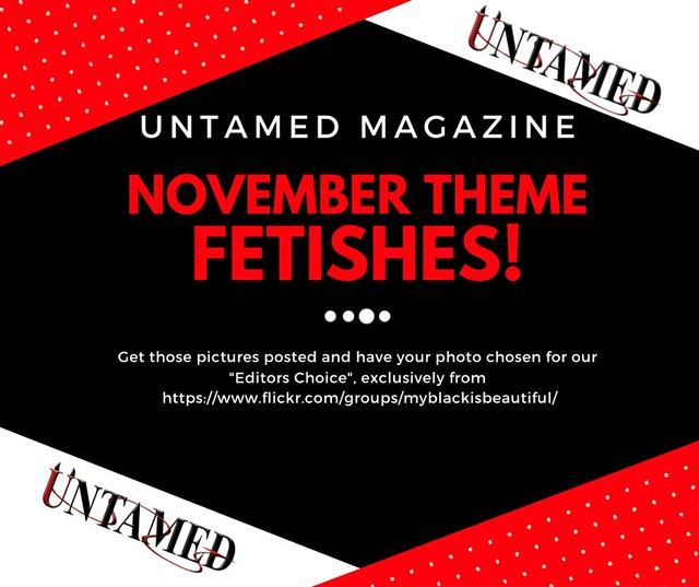 UNTAMED Magazine November Issue Promo