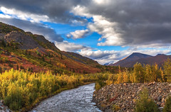 North Klondike River in Autumn