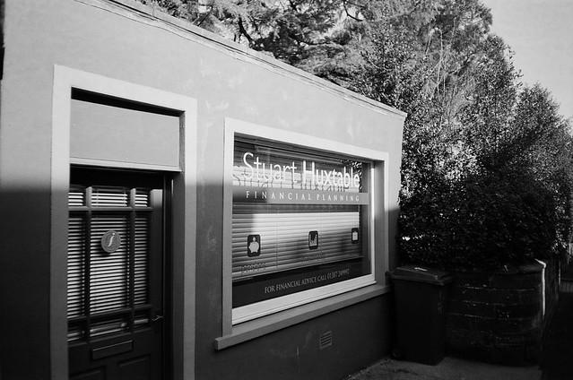 Huxtable. Taken on Praktica Elite