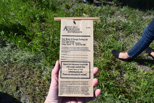 Soil test from AgriLife
