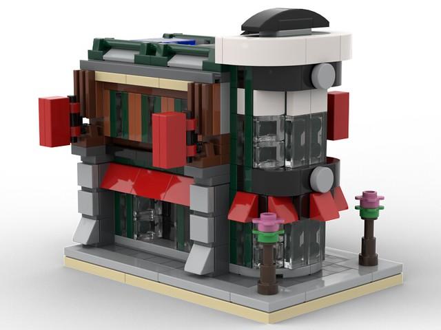 Mini Concession Corner Modular