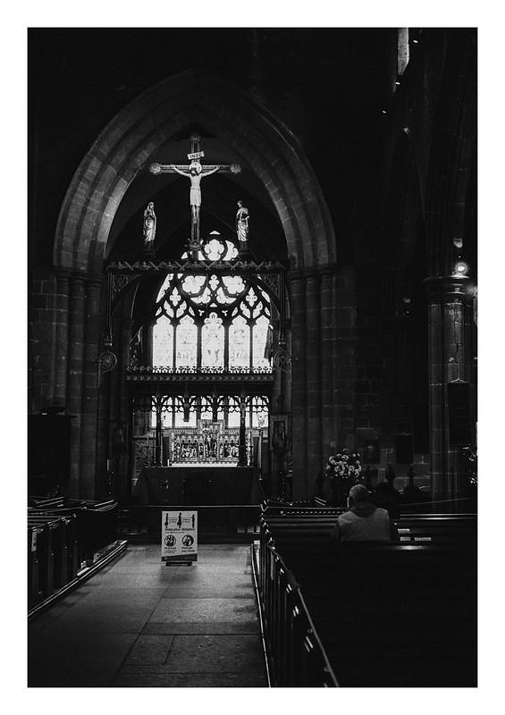 Socially distanced nave