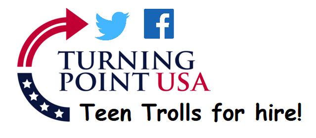 Firm Behind Turning Point's Teen Trolls Booted From Facebook